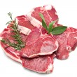 Stock Photo: Cutlet of lamb