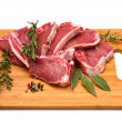 Cutlet of lamb — Stock Photo