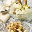 Ice cream pistachio — Stock Photo