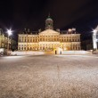 Royal Palace in Amsterdam - night photo — Stock Photo #9950784