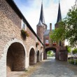 East Gate in Delft - Holland - Stock Photo
