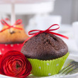 Chokolate Muffin — Stock Photo