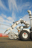 Tactical Bomb Squad Robot — Stock Photo