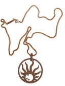 Chaîne de bijoux-or. — Photo