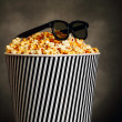Stock Photo: Popcorn box