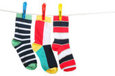 The socks — Stock Photo