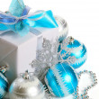 Christmas gift box — Stock Photo #7980042