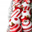 Стоковое фото: Christmas decoration balls