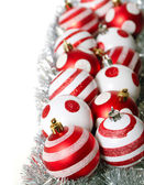 Christmas decoration balls — Foto de Stock