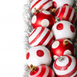 Christmas decoration balls — Stok Fotoğraf #8024653