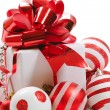 Christmas gift box — Stock Photo #8024786