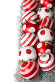 Christmas decoration balls — Stok fotoğraf