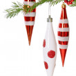 Christmas baubles — Stockfoto #8087632