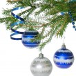 Christmas baubles — Stock Photo #8087635