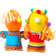 Funny easter eggs — Stock Photo #9505200