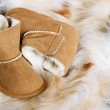 Baby boots — Stock Photo