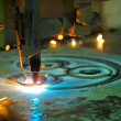 plasma cutting — Stock Photo