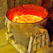 Stock Photo: Metal Casting