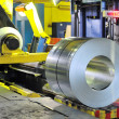Rolls of zinc steel sheet — Stock Photo #8531474