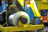 Rotoli di lamiera di acciaio — Foto Stock