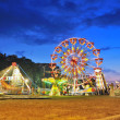 Ferris wheel in summer night — Stock Photo #8902657