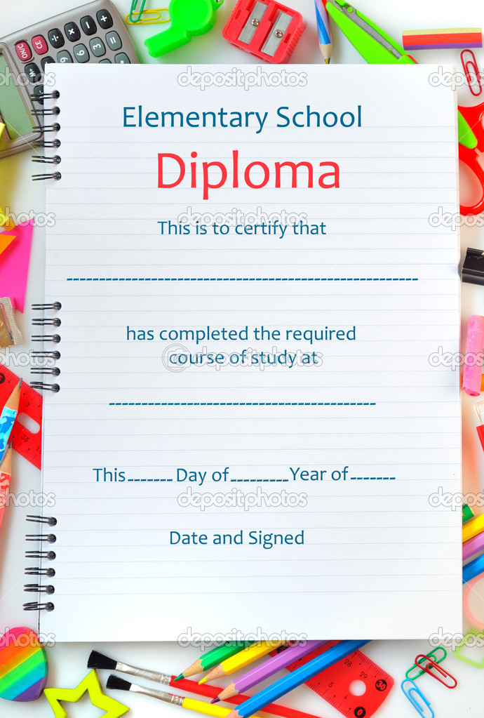 Diploma Scuola Superiore Diploma di Scuola Superiore