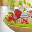 Stock Photo: Painted Colorful Easter Eggs