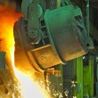 Molten steel — Stock Photo #9550400