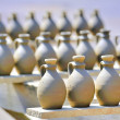 Drying ceramic vase — Photo