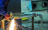 Maszyny do szlifowania stali — Zdjęcie stockowe
