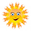 Royalty-Free Stock Vector Image: Happy summer sun EPS 10