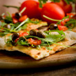 Vegetarian Pizza — Stock Photo #8067601