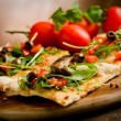 Vegetarian Pizza — Stock fotografie