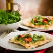 Vegetarian Pizza — Stock Photo #8067698