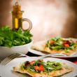 Vegetarian Pizza — Stock Photo #8067723