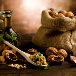 Homemade Walnut pesto — Stock Photo #8068327