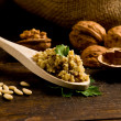 Homemade Walnut pesto - Stock Photo