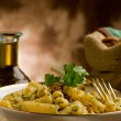 Pastwith Walnut pesto — Stock Photo #8068861