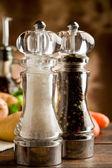 Młynek do pieprzu i soli — Zdjęcie stockowe