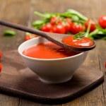 Tomato sauce — Stock Photo #8509575
