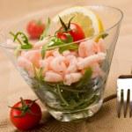 Shrimps cocktail appetizer — Stock Photo #8510302