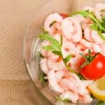 Shrimps cocktail appetizer — Stock Photo #8510313