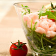 Постер, плакат: Shrimps cocktail appetizer