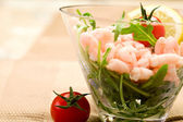Shrimps cocktail appetizer — Stock Photo