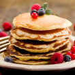 Royalty-Free Stock Photo: Pancakes on wooden table