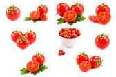 томатный коллаж — Стоковое фото