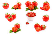 Tomato Collage — Foto Stock