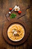 Pasta con pesto siciliano — Foto de Stock
