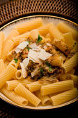 Pasta with Sicilian pesto — Stock Photo