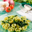 Royalty-Free Stock Photo: Orecchiette with Turnip tops